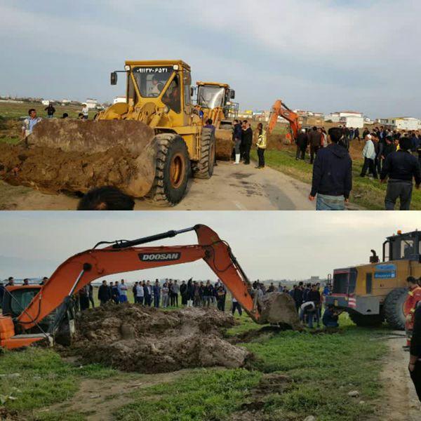 ارسال کمکهای مردمی و ماشین آلات سنگین به روستان چن سبلی شهرستان آق قلا_ تهیه و پخت ۳۰۰۰ پرس غذای گرم برای سیل زدگان در شهر جلین