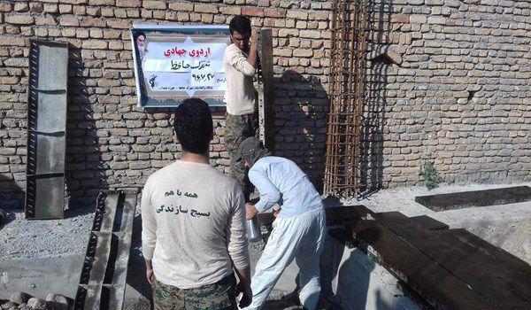 محرومیتهایی که از بین میرود/ فعالیت 70 گروه جهادی در شهرستان گرگان