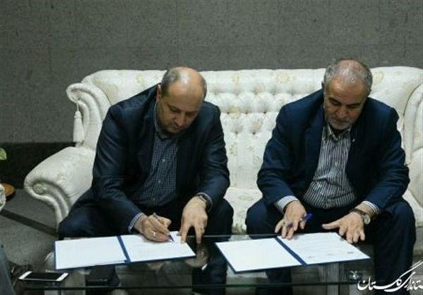 استاندار گلستان و رئیس سازمان جنگلها تفاهمنامه همکاری امضا کردند