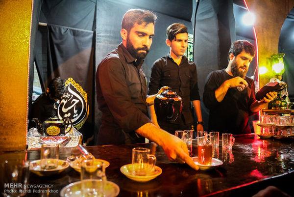 فعالیت شبانه روزی ۱۱ موکب استان گلستان در اربعین