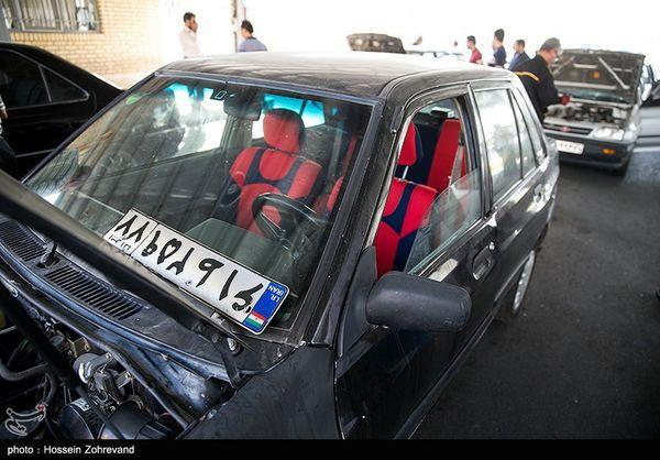 پلاک گذاری بیش از ۱۱ هزار خودرو در استان