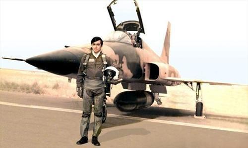 خلبانی که صدام پیکرش را دو نیم کرد! +عکس