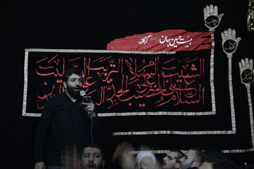 تصاویر/ مراسم عزاداری ایام فاطمیه در هیئت حسین جان گرگان