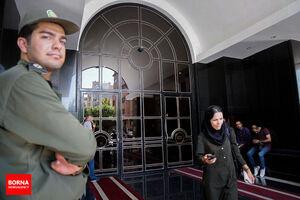 نجفی در محل قتل همسر دومش دیده شده است!