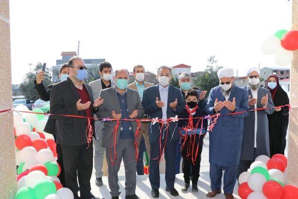 افتتاح دبستان 4500 متری حاج اورکت در استان گلستان