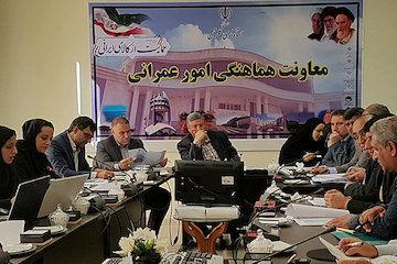 بررسی ۳۵ دستور کار در جلسه کارگروه امور زیربنایی و شهرسازی گلستان