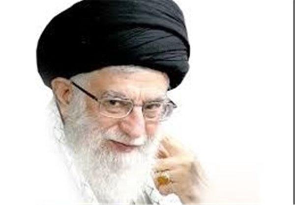 رهبر معظم انقلاب در حرم مطهر امام رضا