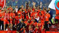 قهرمانی پرسپولیس در لیگ برتر + تصاویر