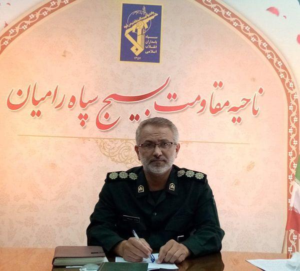 اجرای مرحله جدید طرح شهید سلیمانی برای مقابله با کرونا در رامیان