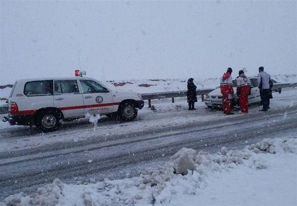 ۸۰ گرفتار در برف در مناطق کوهستانی گلستان نجات یافتند