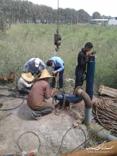 افزایش 5 لیتر بر ثانیه به منابع تامین روستای مرزنکلاته