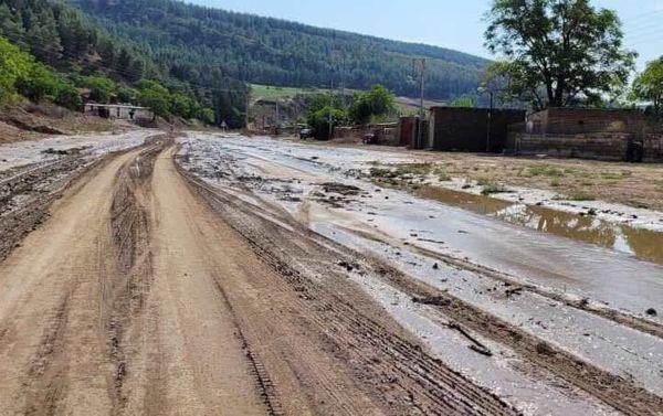 خسارت تند باد دیروز  به ۷ شهرستان شرقی استان