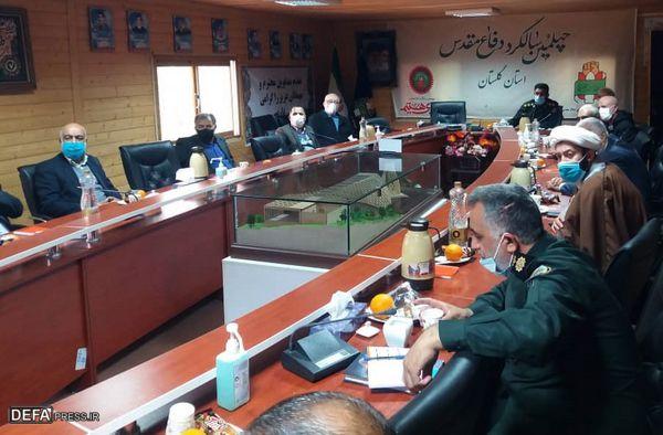 تشکیل کارگروه استانی نظارت بر تولیدات ادبی دفاع مقدس در گلستان