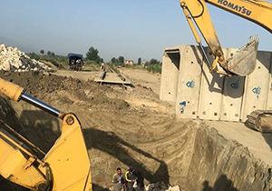 اجرای طرح زیر گذر راه آهن ضلع غربی شهر بندرگز