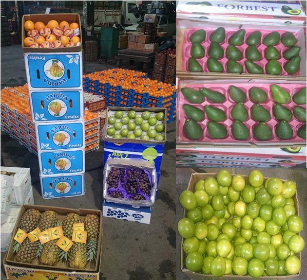 بازار داغ میوههای قاچاق در روز روشن +عکس
