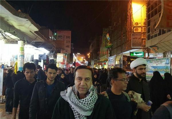 محمد گلریز  در نجف