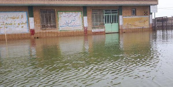 324 مدرسه در استان گلستان بر اثر وقوع سیل و رانش دچار خسارت شد