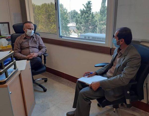 دیدار سرپرست جهاددانشگاهی گلستان با معاون تحقیقات علوم پزشکی استان