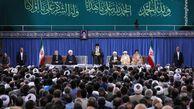 عکس/ دیدار مسئولان نظام و سفرای کشورهای اسلامی با رهبر انقلاب