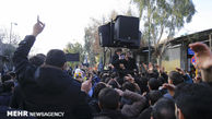 دسته روی عزاداران علوی در گلستان برگزار می شود