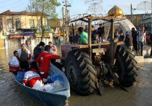 امداد رسانی به ۲ هزار و ۳۴۵ نفر در آق قلا