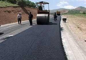 اجرای طرح آسفالت ۱۵ روستای بخش مرکزی علی آباد کتول