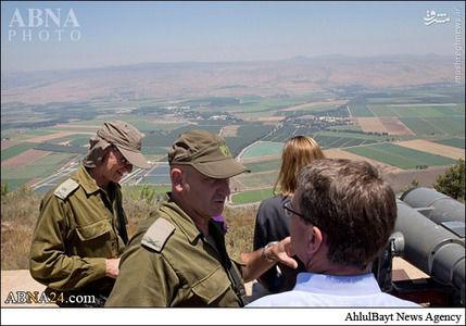 بازدید وزیر دفاع آمریکا از مواضع حزبالله