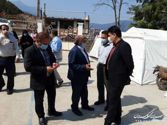 بازدید میدانی مدیرعامل شرکت آب و فاضلاب استان گ شهرستان رامیان