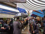 رنجش عابران در آشفته بازار نعلبندان/ بازار در قرق مغازه دارها