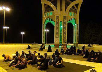 """گزارش تصویری مراسم """"با شهدای گمنام در ضیافت الله رمضان"""""""
