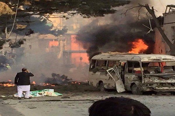 دانلود کلیپ لحظه وقوع انفجار مهیب در کابل