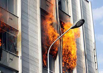 آتش سوزی خانه معلولان ذهنی در گلستان