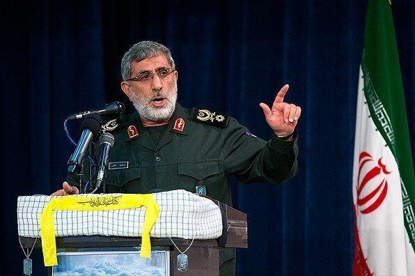 فرمانده جدید سپاه قدس سپاه: انتقام خون شهدای مقاومت را از آمریکا میگیریم