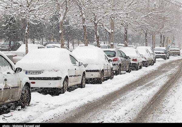 هواشناسی ایران ۹۸/۱۱/۲۰  برف،کولاک و یخبندان در ۲۰ استان
