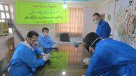 حضور کادر درمانی و پزشکان متخصص جهادی استان گلستان در زندان مرکزی گرگان