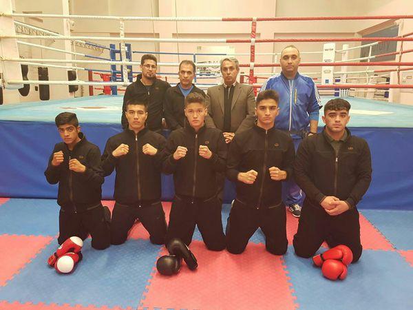 حضور بوکسورهای جوان گلستان در مسابقات بین المللی آذربایجان