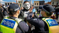 فیلم/ درگیری معترضان به محدودیتهای کرونایی