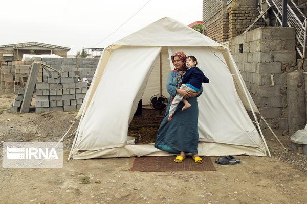 سکونت ۲۶ خانوار سیلزده گلستان در چادر و چند خبر کوتاه