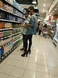 مردانی که کفش پاشنه بلند می پوشند