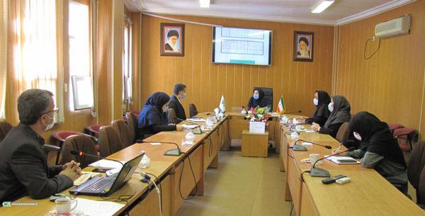جلسه کارگروه توسعه مدیریت کانون پرورش فکری گلستان برگزار شد