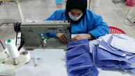 روزانه ۱۲۰ هزار ماسک در گلستان تولید می شود