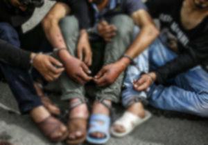 دستگیری ۵ سارق مسلح و زورگیر در آق قلا