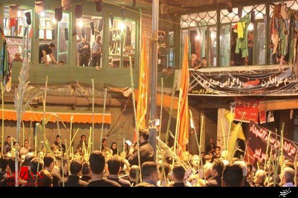 آداب عزاداری حسینی در استان گلستان/از «طوق بندان» تا «مشعلگیر» در گرگان