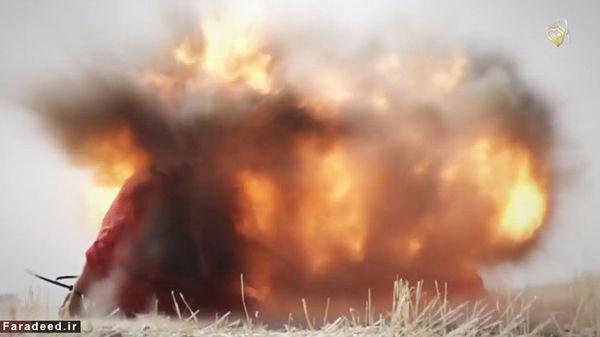 داعش یک پیرزن هشتاد ساله را آتش زد