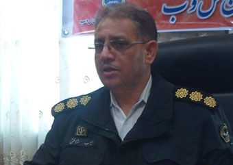 فرمانده پلیس راهور استان گلستان