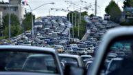ترافیک در آزادراه کرج-تهران سنگین است/هشدار سیل در شمال کشور