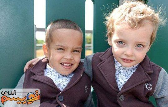 دوقلوهای ناهمسان! + عکس