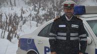 هشدار پلیس راه گلستان به رانندگان با ورود سامانه هوای سرد
