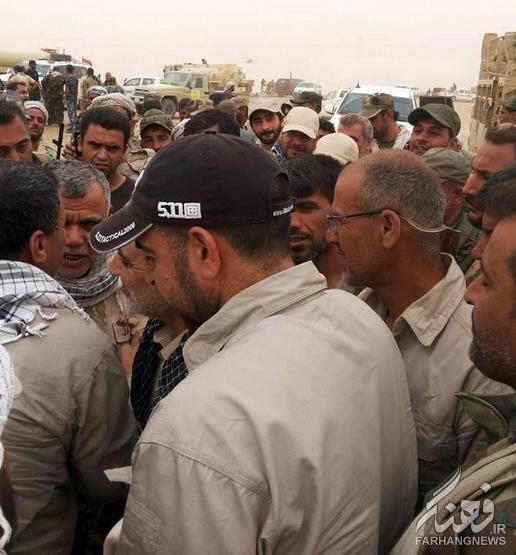 حاج قاسم سلیمانی در عملیات الانبار