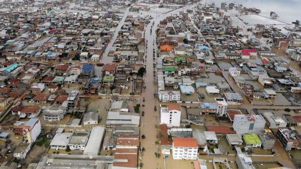 اسکان اضطراری 1110 نفر در محل های ایمن